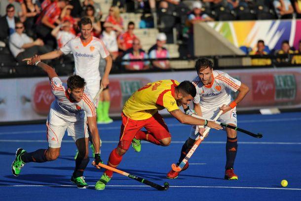 Los Red Sticks debutan con derrota en el Europeo de Londres