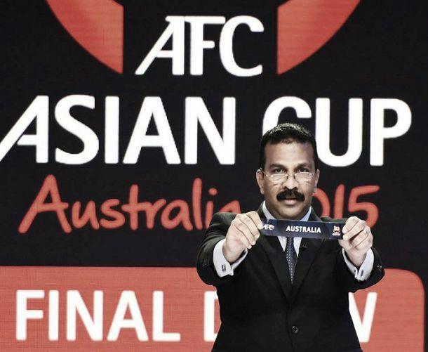 Grupos da Copa da Ásia de 2015 são definidos