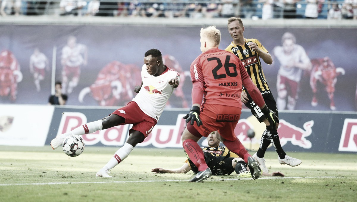 Na estreia da Europe League, RB Leipzig goleia BK Häcken e abre vantagem para duelo de volta