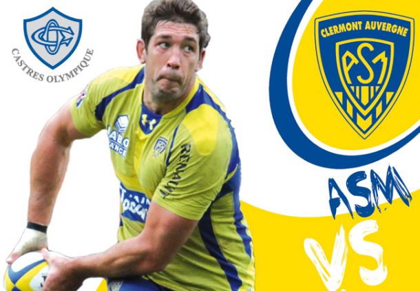 Live Top 14: ASM Clermont-Auvergne vs Castres Olympique