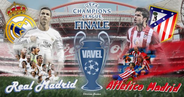 Live Champions League 2014 : le match Real Madrid vs Atlético Madrid en direct