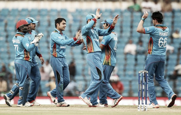 World T20: Afghanistan blow Zimbabwe away to qualify for Super 10 stage