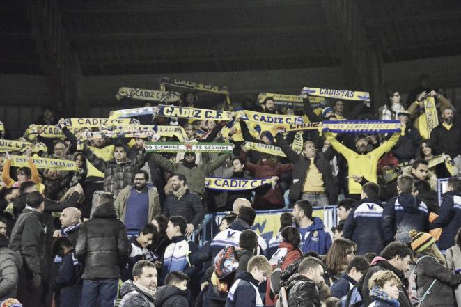 Agotadas las entradas para los cadistas para el Málaga - Cádiz