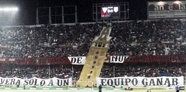 Completado el aforo de abonados en el gol norte del Sánchez Pizjuán