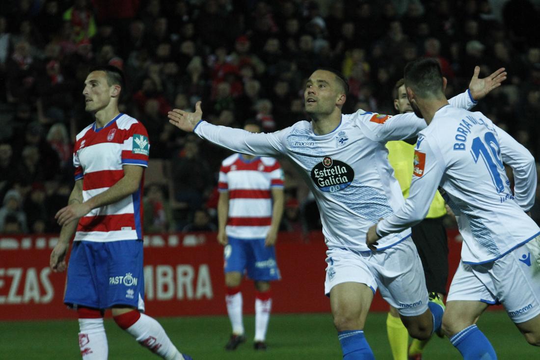 Un error que pesa y atasca al Granada CF frente al Dépor