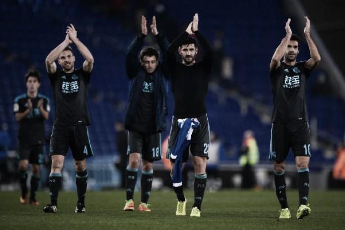 Real Sociedad vence Espanyol fora de casa e entra na zona de classificação à Champions League