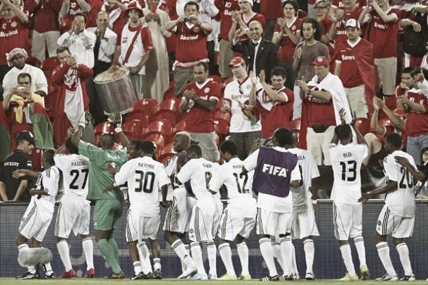 Africanos en la final