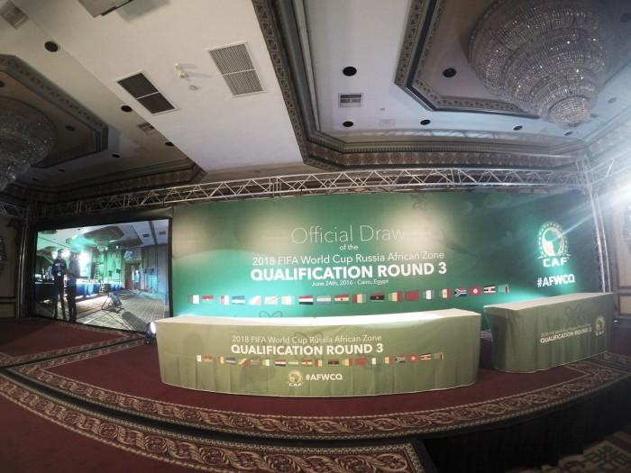 CAF sorteia grupos da terceira fase das Eliminatórias Africanas da Copa do Mundo de 2018