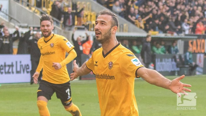 Dynamo Dresden 2-1 SpVgg Greuther Fürth: Gogia's fine form continues with man of the match showing