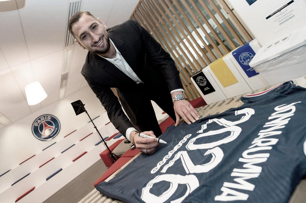 Melhor jogador da Euro, goleiro Donnarumma é oficializado como reforço do Paris Saint-Germain