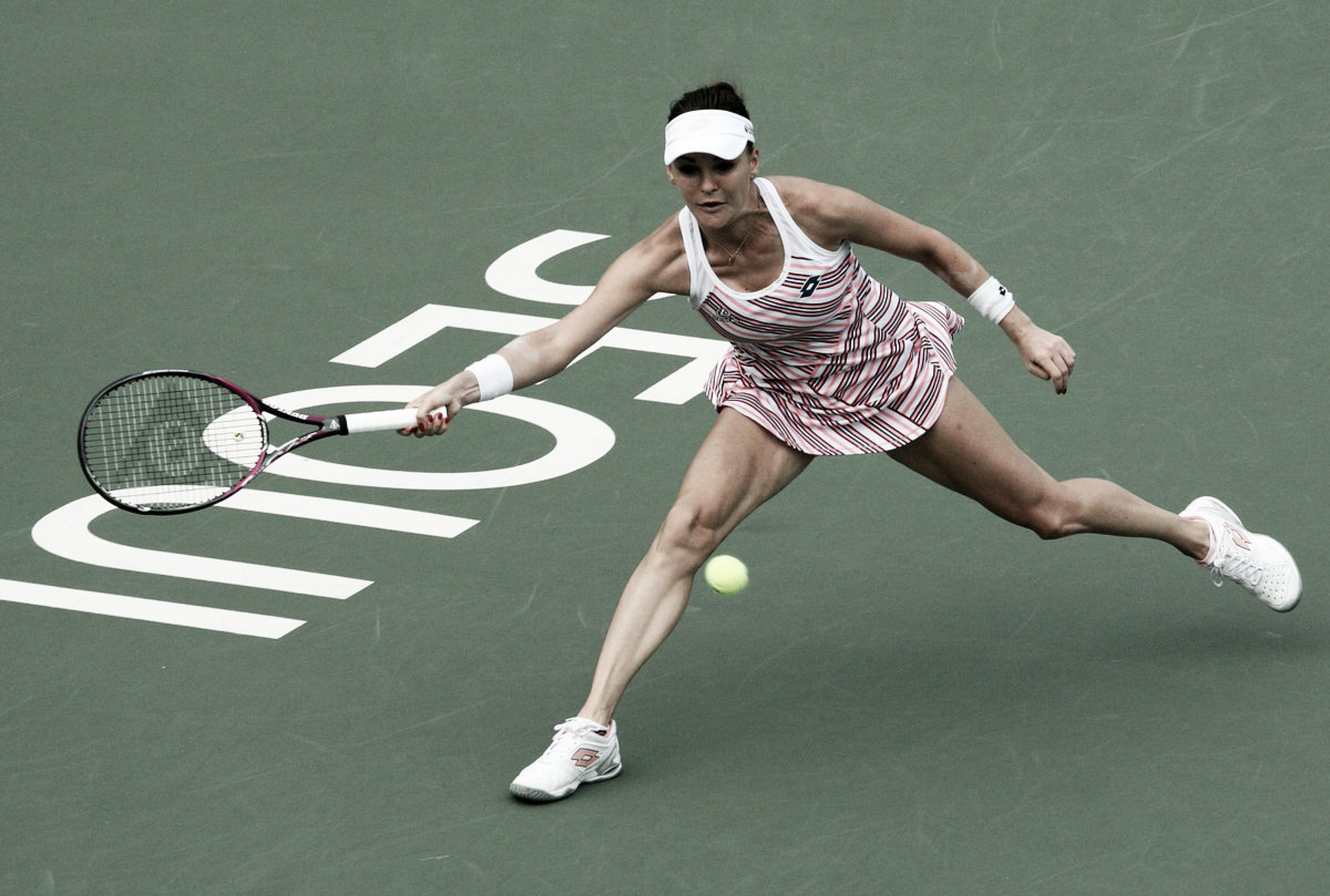 Radwanska faz boa partida para bater Mattek-Sands na estreia do WTA de Seul