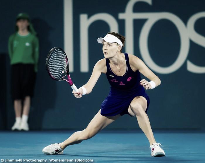 WTA Sydney: Agnieszka Radwanska defeats Duan Yingying in straight sets