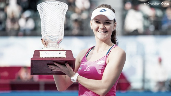 WTA Shenzhen: Agnieszka Radwanska escapes by a whisker against Duan Yingying