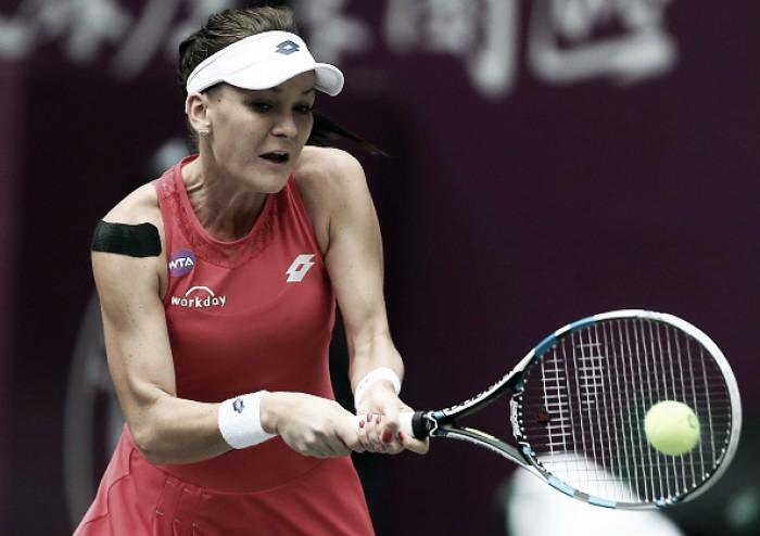 WTA Tianjin: Radwanska withdraws after reaching the quarterfinals