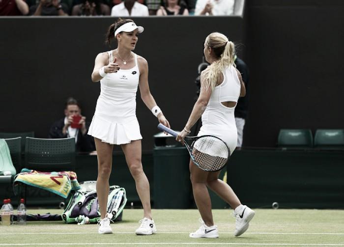 Wimbledon 2016: Cibulkova power knocks out Radwanska in classic