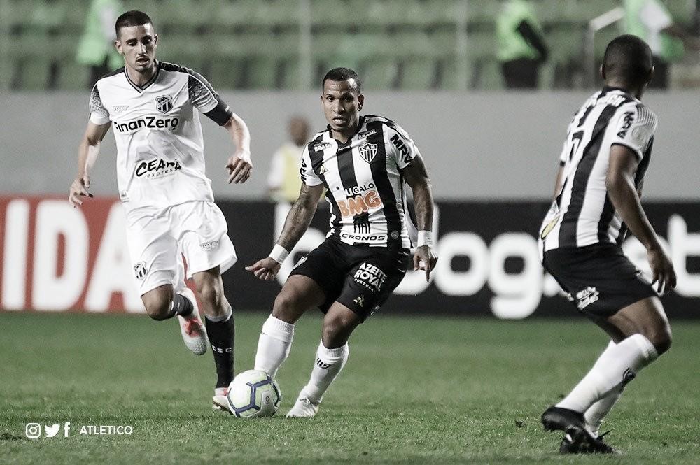 Virada providencial para o Atlético-MG diante do Ceará