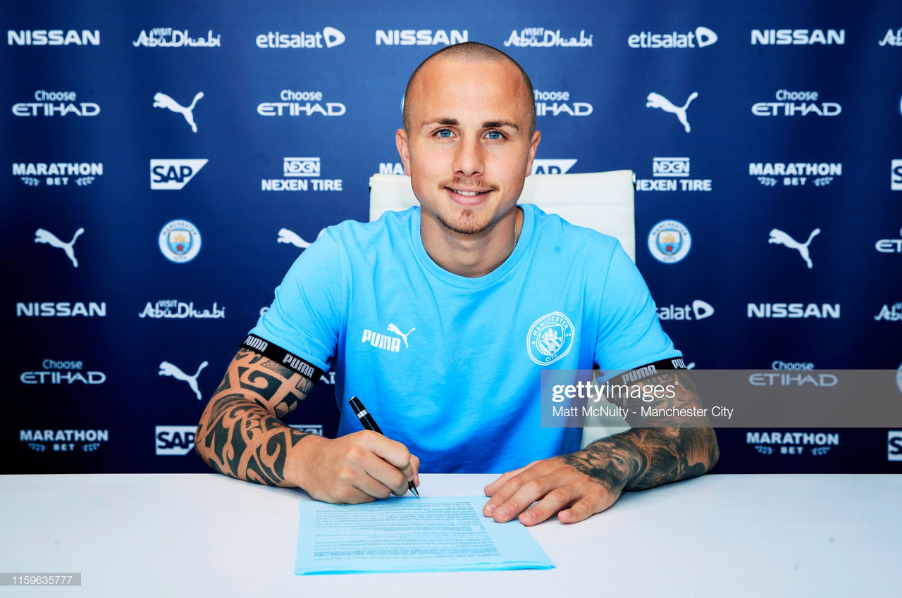 Manchester City re-sign Angelino