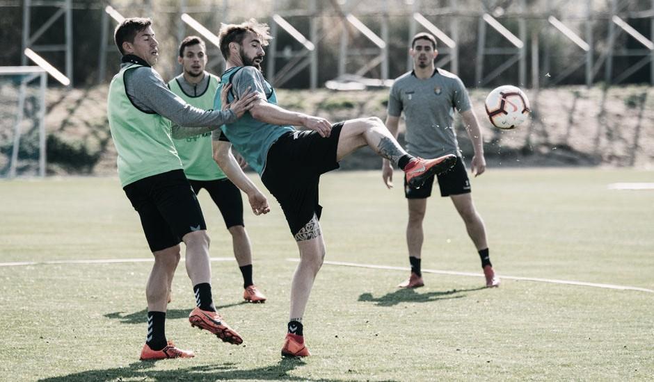 El Real Valladolid tendrá tres sesiones antes del encuentro ante el Alavés