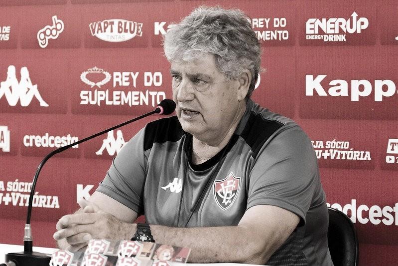 Para Geninho, Vitória 'ganhou um ponto' ao empatar com o Figueirense