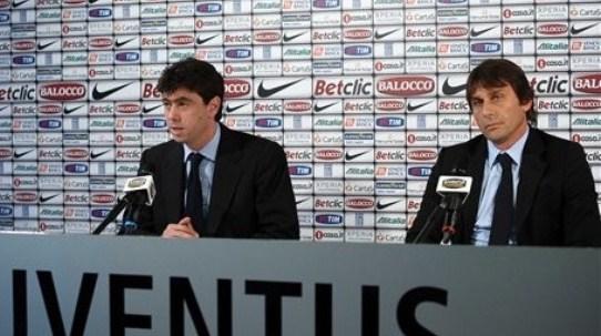 """Agnelli: """"Conte è e sará il nostro allenatore"""""""