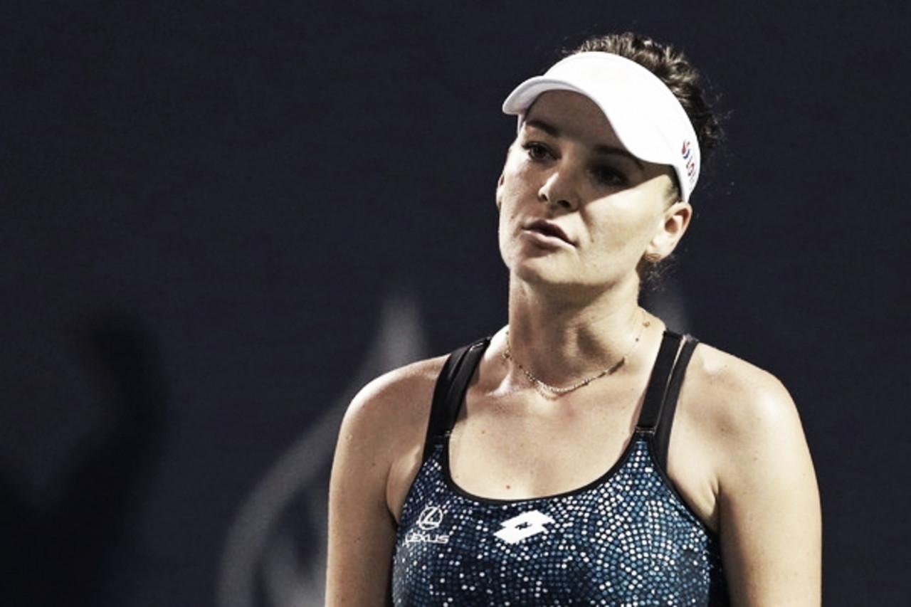 Radwanska niega la posibilidad de volver a competir