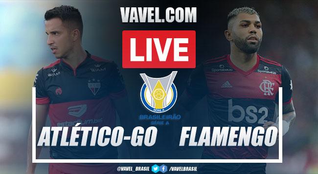 Atlético-GO x Flamengo AO VIVO: jogo online pelo Campeonato Brasileiro 2020