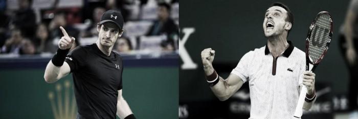 Resultado Roberto Bautista Agut x Andy Murray pela final do Masters 1000 de Xangai 2016 (0-2)