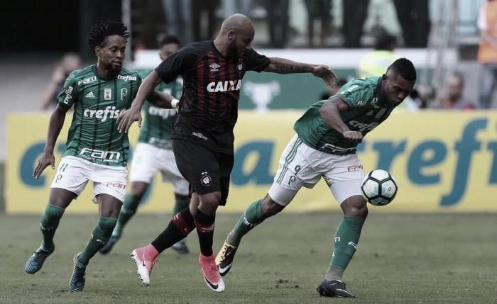 Palmeiras busca segundo lugar do Brasileirão contra Atlético-PR