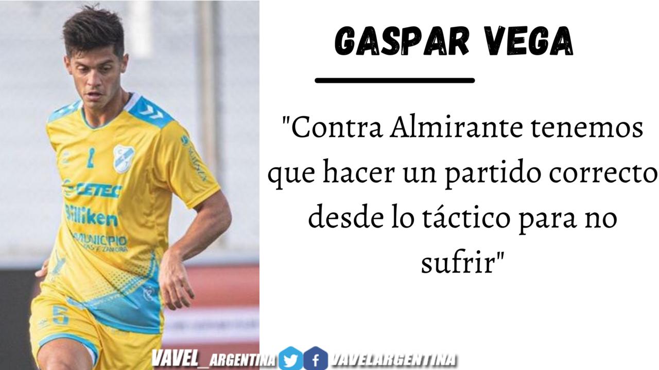 Gaspar Vega: ''Estamos contentos pero tenemos que seguir corrigiendo''