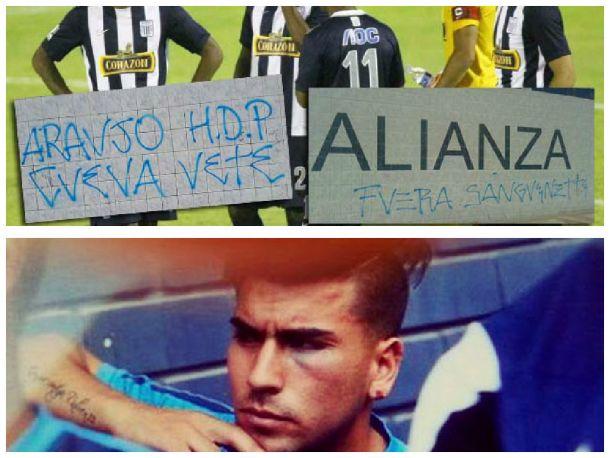 ¡Penoso! Hinchas de Alianza Lima agredieron a sus jugadores