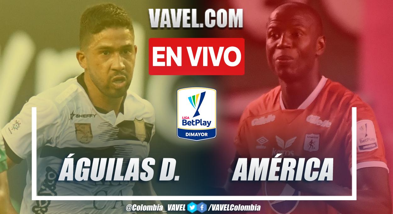 Resumen y goles: Águilas Doradas 1-3 América en la fecha 2 por Liga BetPlay 2021-II