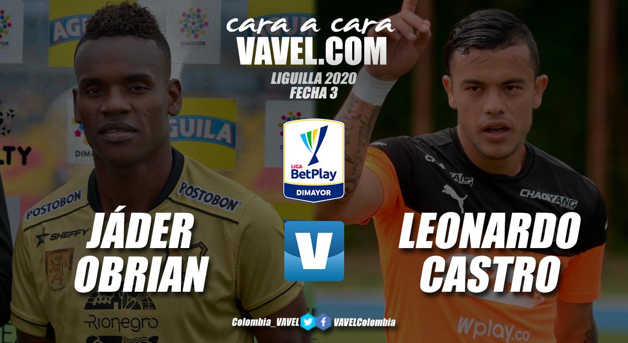 Cara a cara: Jáder Obrian vs Leonardo Castro