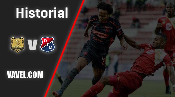 Historial Águilas Doradas vs Independiente Medellín: favorabilidad 'poderosa'