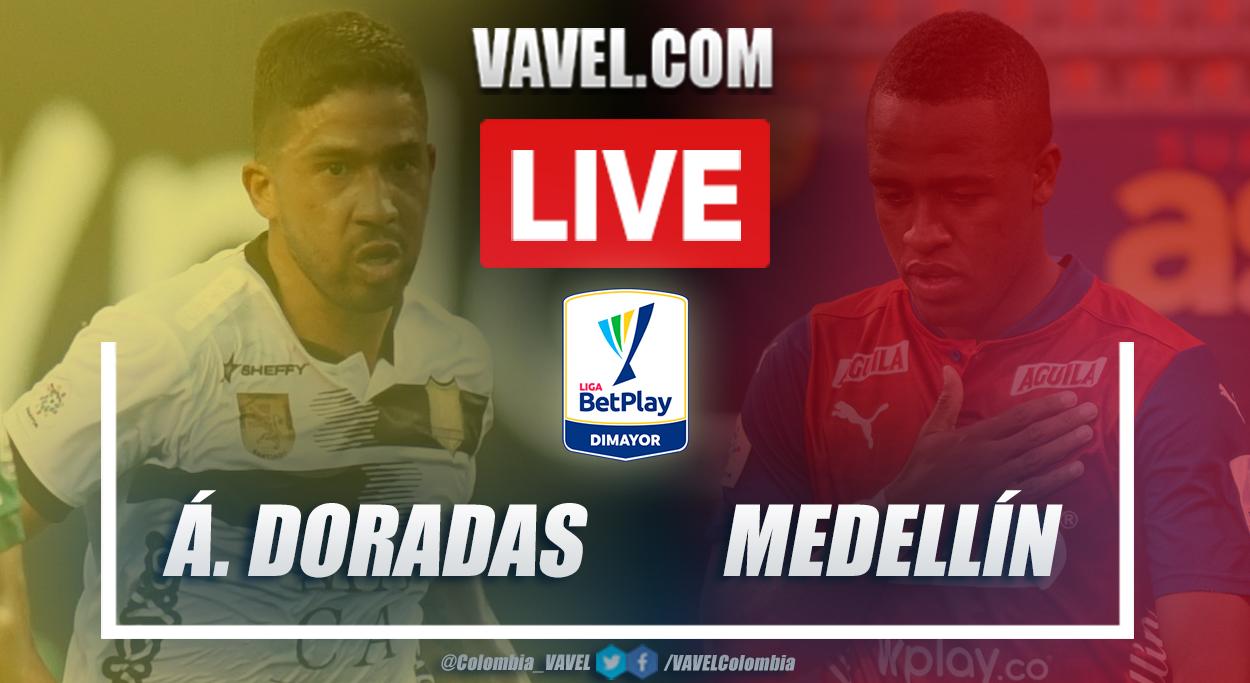 Resumen Águilas Doradas vs Medellín (0-2) en la fecha 12 por Liga BetPlay