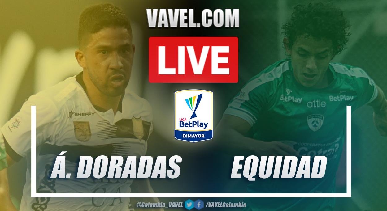 Resumen Águilas Doradas vs La Equidad (1-2) en la fecha 9 por la Liga BetPlay 2021-I