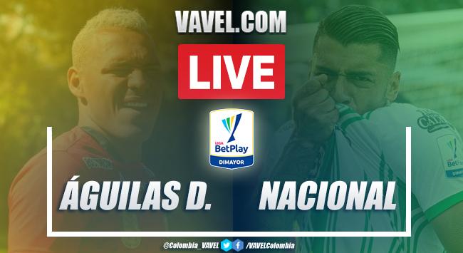 Resumen: Águilas Doradas vs Nacional (2-3) por Liga BetPlay