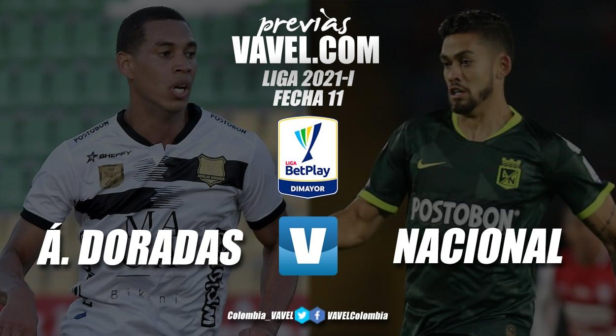 Previa Águilas Doradas vs Atlético Nacional: última prueba antes del debut internacional