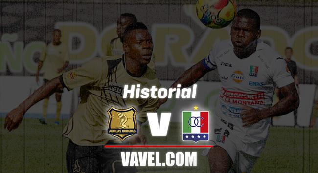 Historial Rionegro Águilas vs. Once Caldas: por la primera victoria en Rionegro