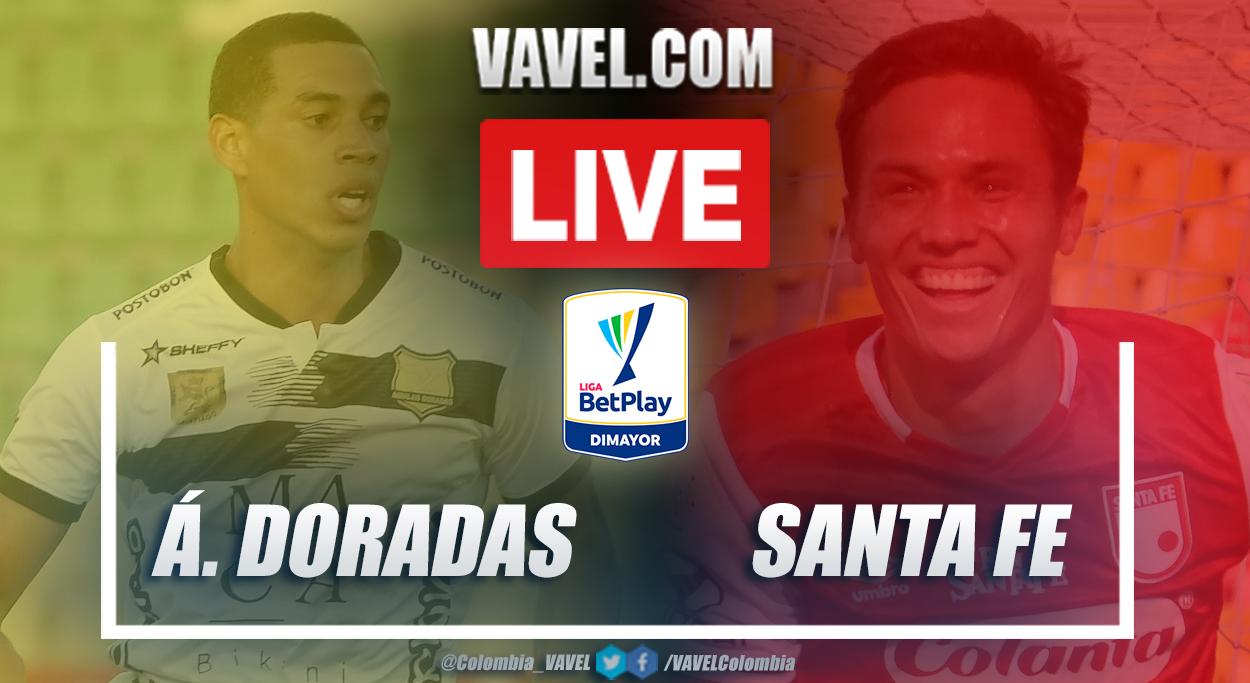 Resumen Águilas Doradas vs Santa Fe (0-2) en la fecha 3 por Liga BetPlay 2021-I
