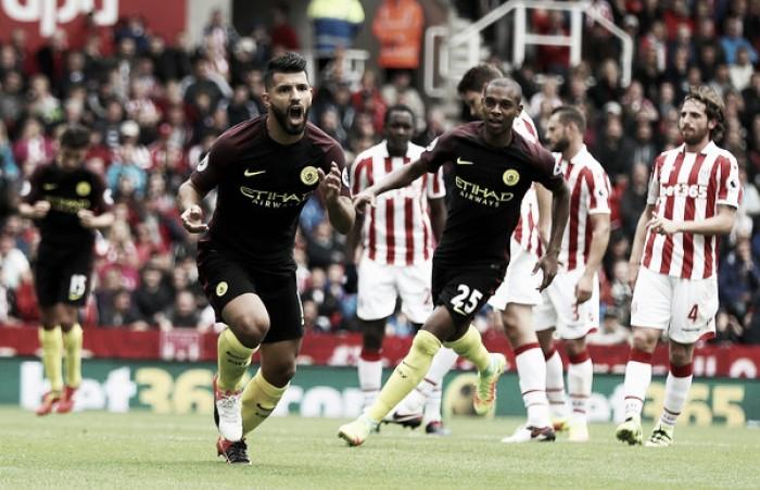 Agüero é suspenso por agressão e está fora do dérbi contra Manchester United