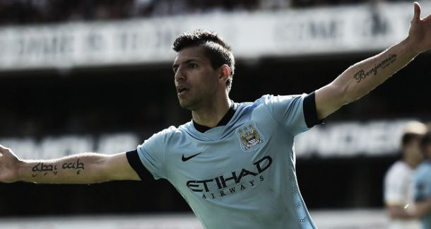 Tottenham 0-1 Manchester City: First-half Aguero strike seals three points for City