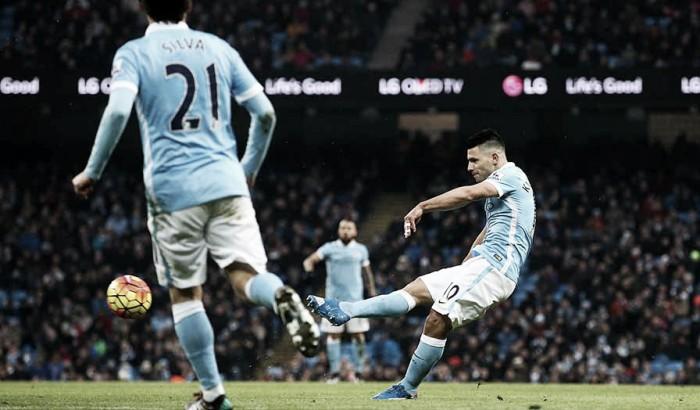 Premier League, Aguero affossa il Palace e rilancia il City (4-0)