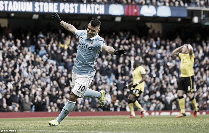 Manchester City 4-0 Aston Villa: Ruthless City hammer another nail into Garde's coffin
