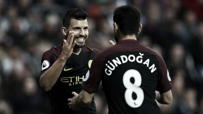 """Guardiola enfatiza qualidade de Agüero e ressalta: """"Quero ajudá-lo a ser ainda melhor"""""""