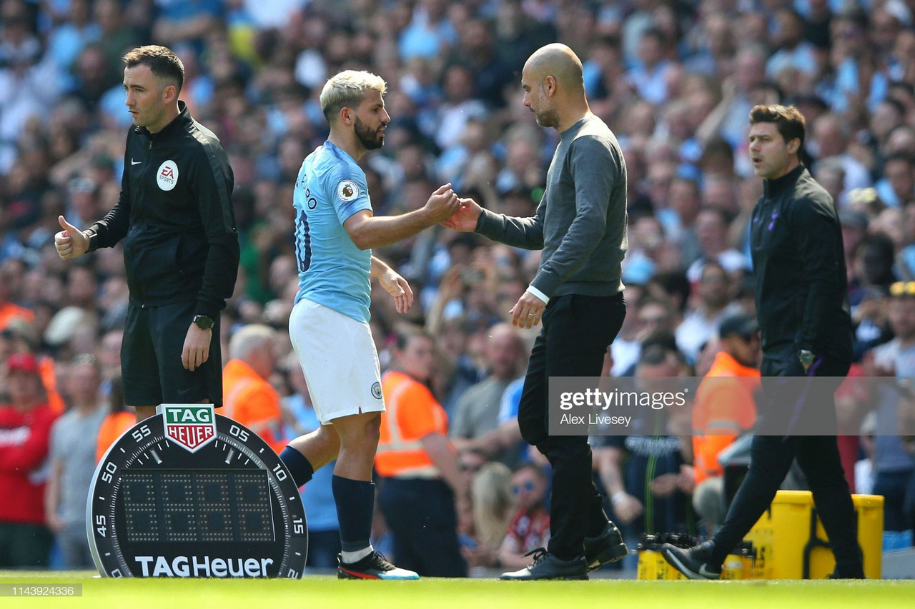 "Guardiola describes Aguero as ""a special talent"""