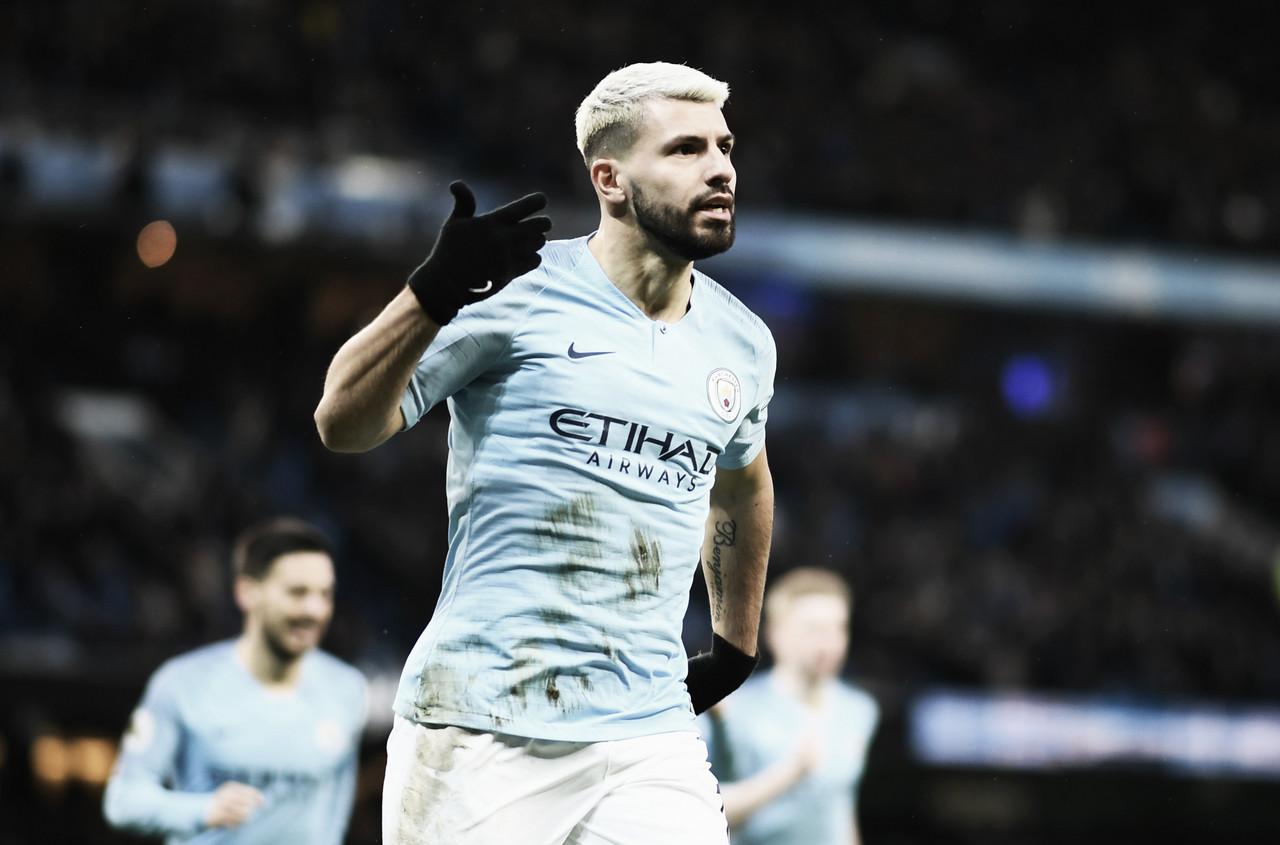 Com show de SérgioAgüero, Manchester City vence Arsenal pela Premier League