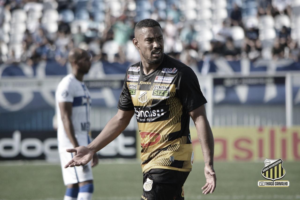 Bruno Aguiar comemora bons números no Novorizontino e mantém foco na temporada
