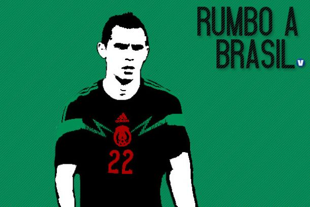 Camino a Brasil 2014: Paul Aguilar