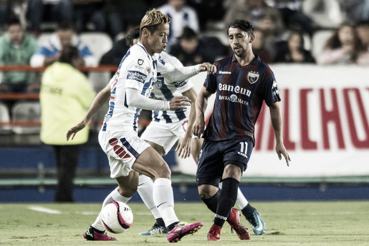 """Diego Aguilar: """"El equipo va a estar muy bien para el juego ante Murciélagos"""""""