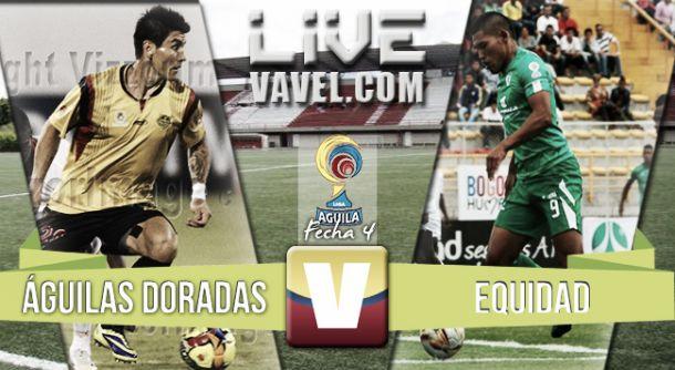 Resultado Águilas Doradas - La Equidad en Liga Águila 2015-II (2-1)